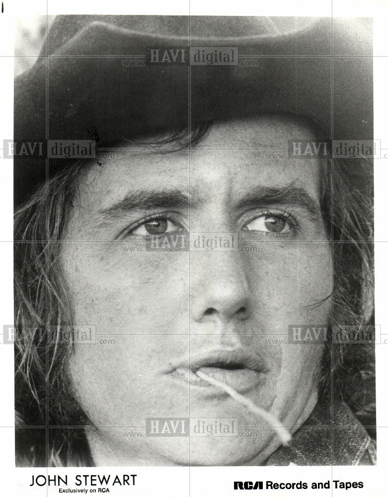 1973 Press Photo John Stewart American songwriter - Historic Images