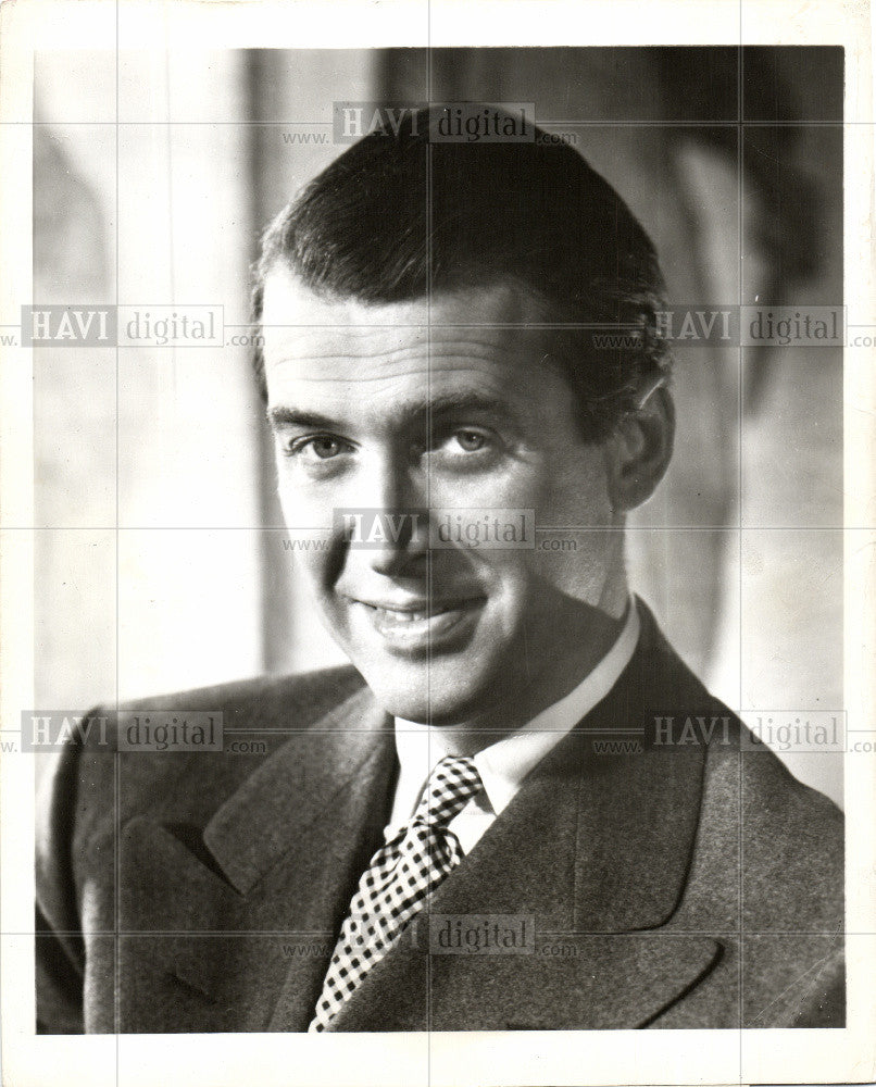 1948 Press Photo James Stewart actor - Historic Images