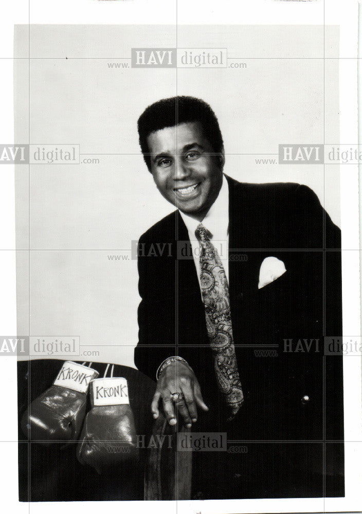 1990 Press Photo EMANUEL STEWARD - Historic Images