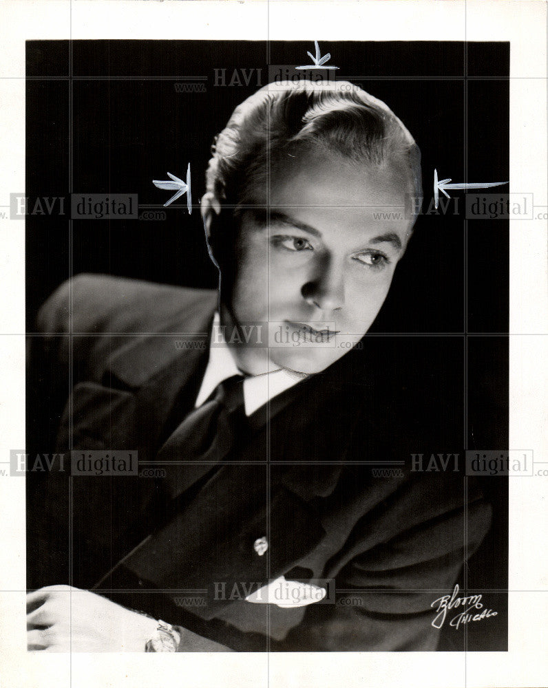 Press Photo Bobby Stewart - Historic Images