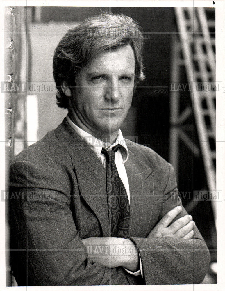 1990 Press Photo Jamey Sheridan, American actor - Historic Images