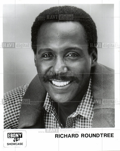 Press Photo Richard Roundtree American actor model - Historic Images