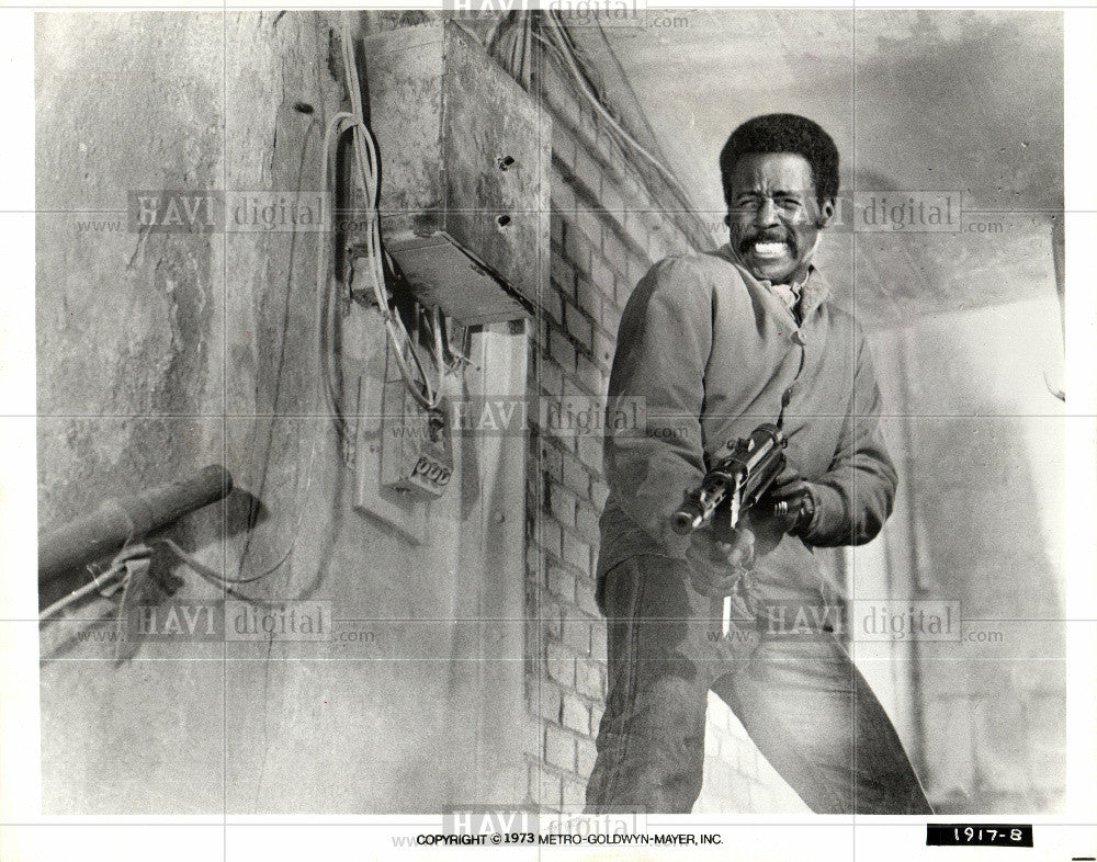 Press Photo Richard Roundtree, actor, movies - Historic Images