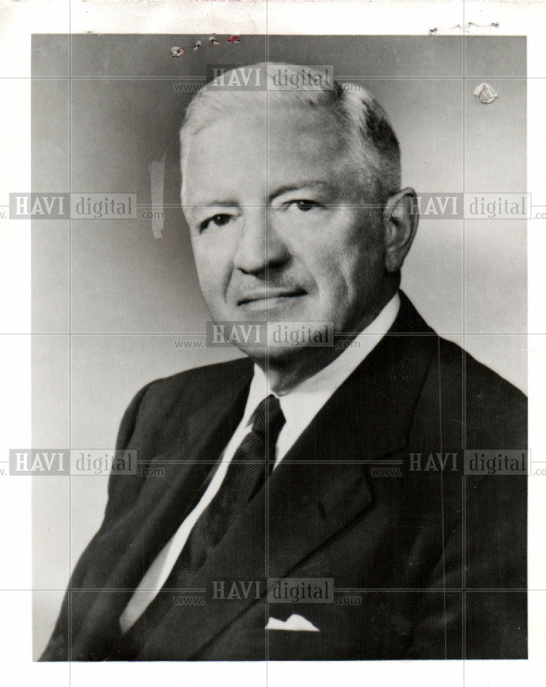1964 Press Photo Willard f. Roskwel Corp 1964 president - Historic Images
