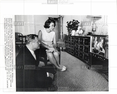 1968 Press Photo Nelson Rockefeller Governor Wife