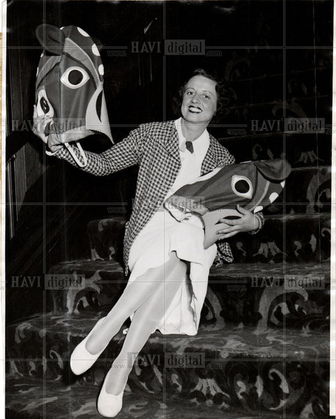 1935 Press Photo Rose Marie - Historic Images