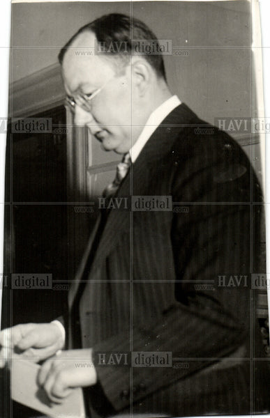 1930 Press Photo Judge Scallen - Historic Images