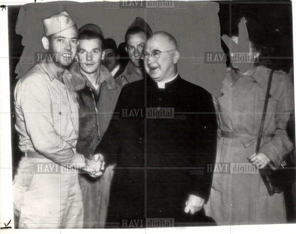 1944 Press Photo Francis G. Spellman - Historic Images