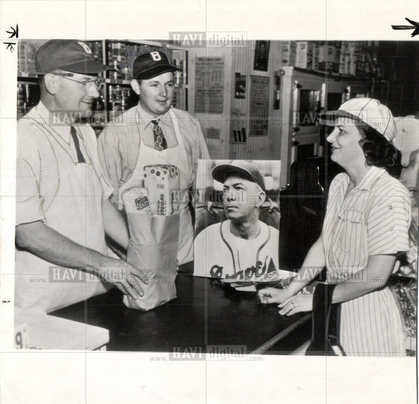 1948 Press Photo baseball player - Historic Images
