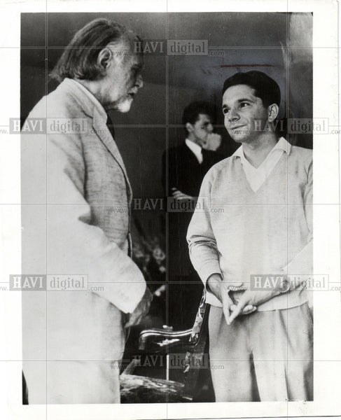 Press Photo Zoltan Kodaly - Historic Images