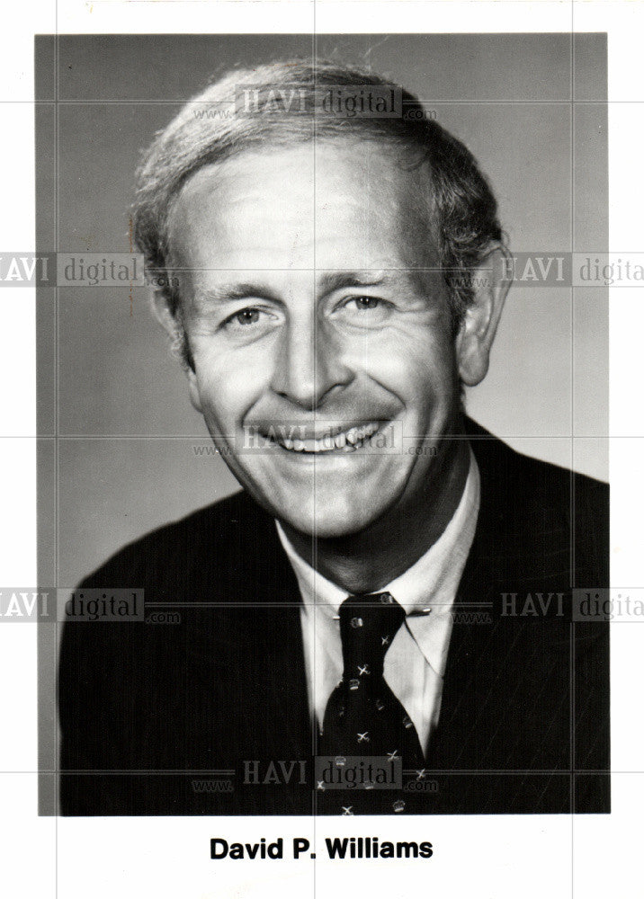 1979 Press Photo David P. Williams Budd Co - Historic Images