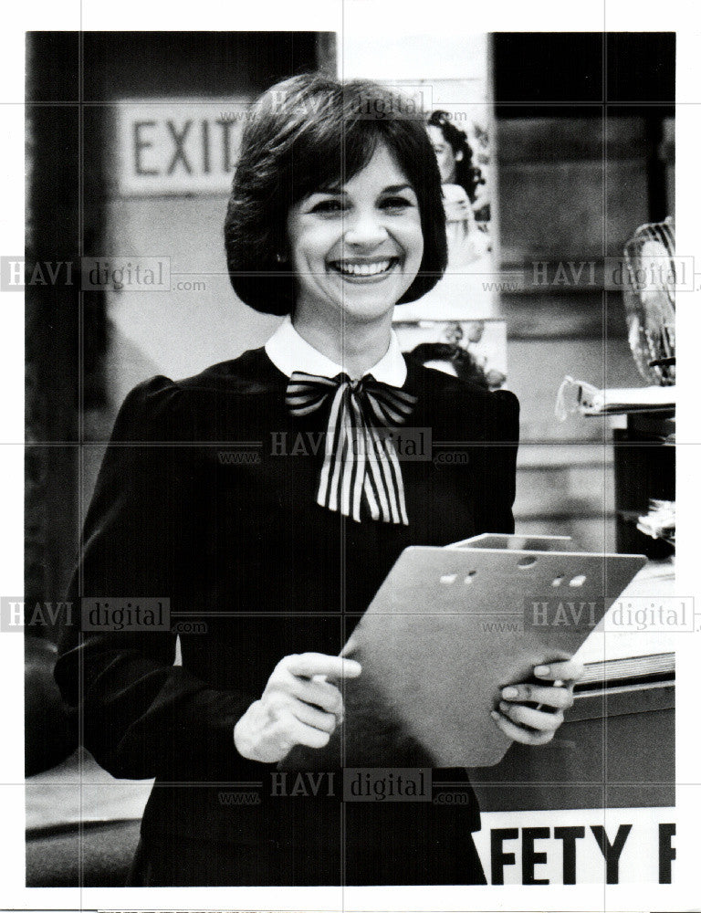 1985 Press Photo Cindy Williams Laverne & Shirley ABC - Historic Images