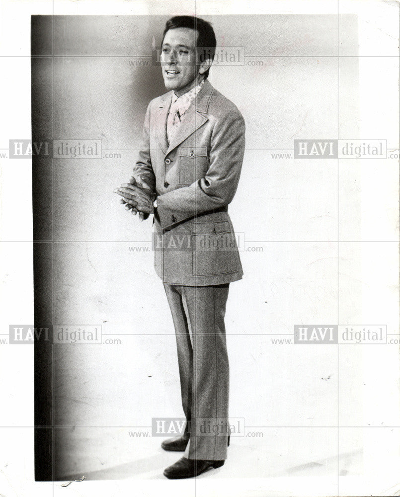 1969 Press Photo Andy Williams tenor singer TV star - Historic Images