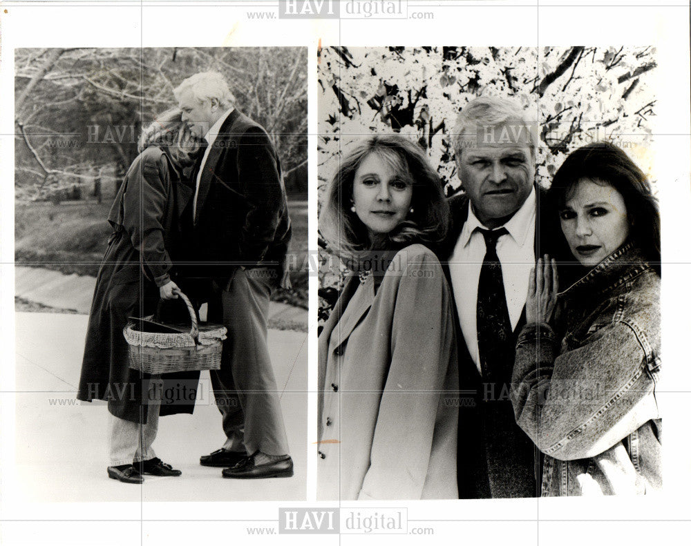 1994 Press Photo Brian Dennehy actor Leave of Absence - Historic Images