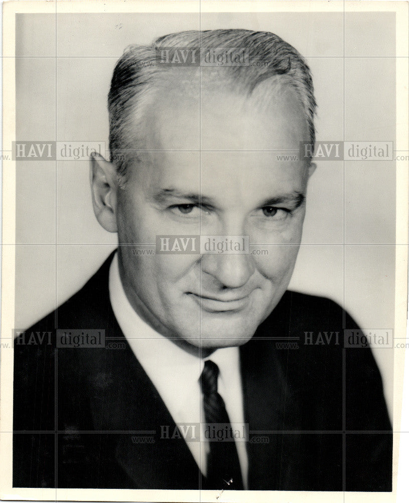 1959 Press Photo Harry B. Cunningham Kresge - Historic Images