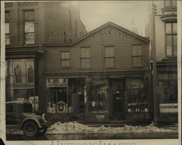 1931 Press Photo Judge Aarons birthplace at 159 Reed st. old address - mja00808 - Historic Images