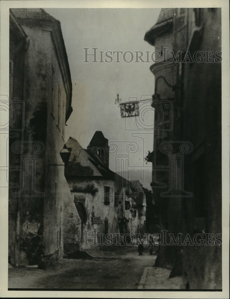 1928 Press Photo Durenstein, where Richard the Lion Hearted was kept prisoner - Historic Images