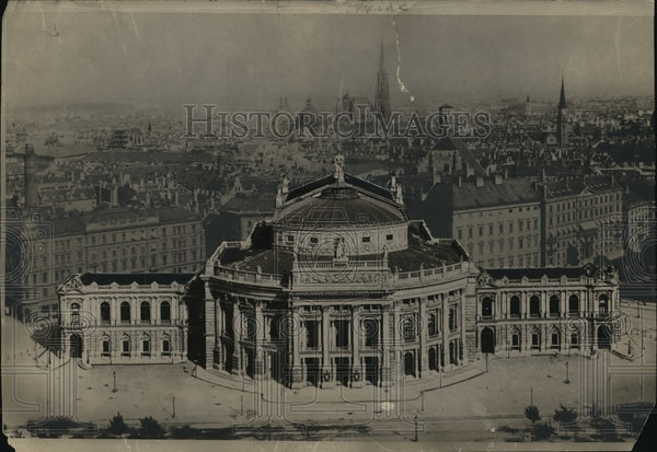1927 Press Photo City Hall in Vienna - mja04116 - Historic Images