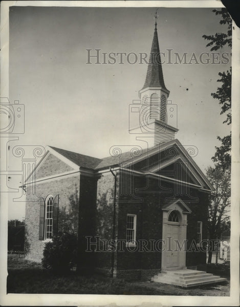 1931 Press Photo Lincoln Marriage Temple dedicated at Harrosburg, Kentucky - Historic Images