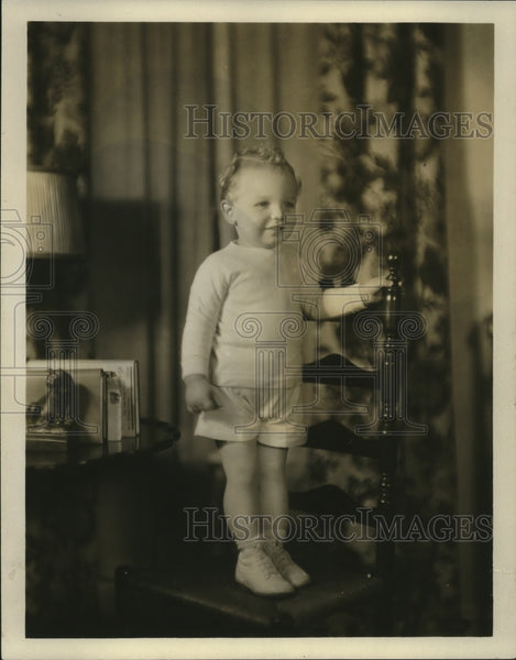 1931 Press Photo Billy Lindsay, son of Mr. and Mrs. Gordon Lauding - mja18501 - Historic Images