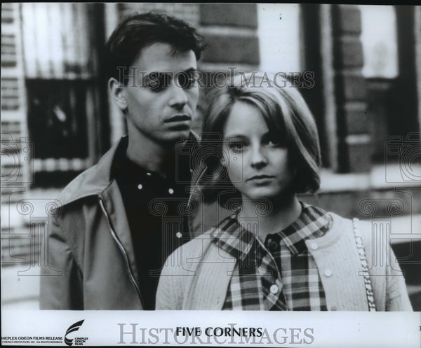 "1988 Press Photo ""Five Corners"" movie - mja78383 - Historic Images"