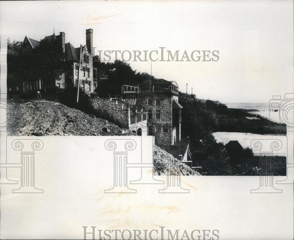 1900 Press Photo house built by William Becker around 1890 - mja79664 - Historic Images