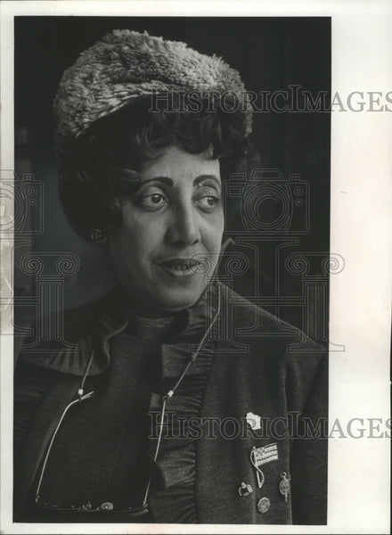 1971 Press Photo Mrs. Mattie Coney founded and directs Citizens Forum, Inc. - Historic Images