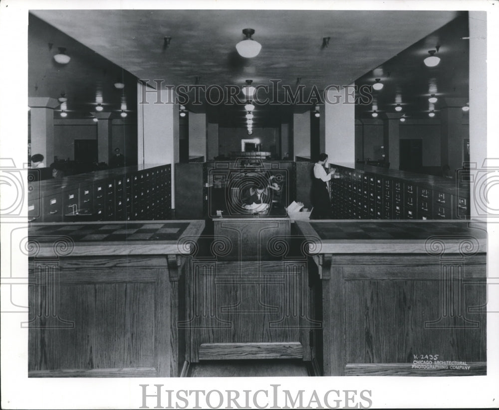1915 Press Photo News Information Center at Milwaukee Journal Sentinel, Historic - Historic Images