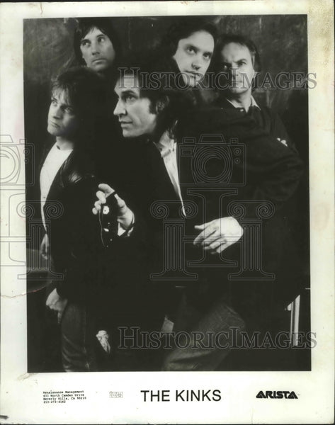 Press Photo The Kinks - mjb35472 - Historic Images