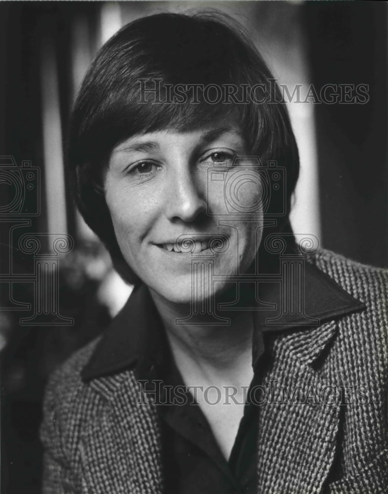 1979 Press Photo Union organizer Joanne Ricca, American Federation of Teachers - Historic Images