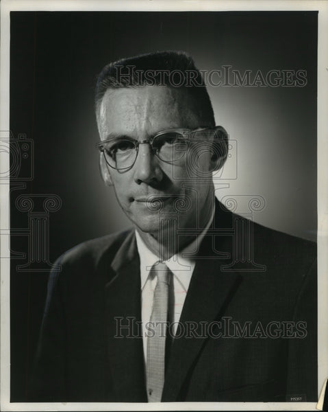 1962 Press Photo John P. Howard, new police chief of Wauwatosa. - mjb55118 - Historic Images
