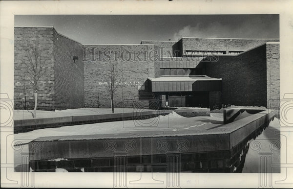 1979 Press Photo Frontal Look of North Division High School - mjb56439 - Historic Images