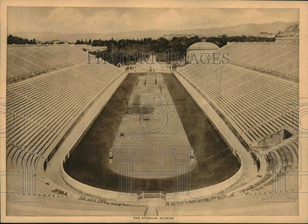 1951 Press Photo Athens Greece The Stadium rec - mjb63533 - Historic Images