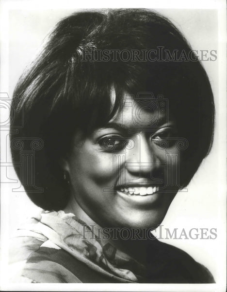 1979 Press Photo American Opera Singer, Jessye Norman, Soprano - mjb68543 - Historic Images