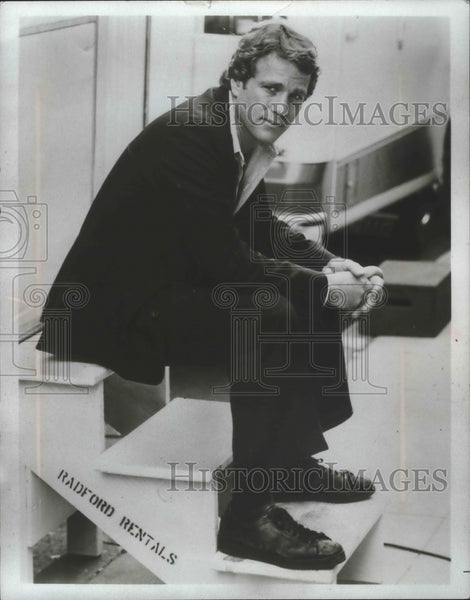 "1978 Press Photo Actor Ryan O'Neal in an action film ""The Driver"" - mjb68784 - Historic Images"