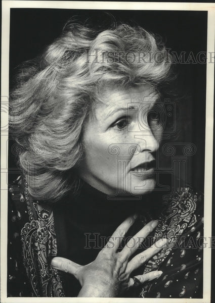 1970 Press Photo Barbara Howar, Washington D.C. Writer In Appleton - mjb85031 - Historic Images
