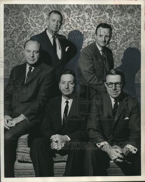 1965 Press Photo New directors of the Better Business Bureau Milwaukee, WI - Historic Images