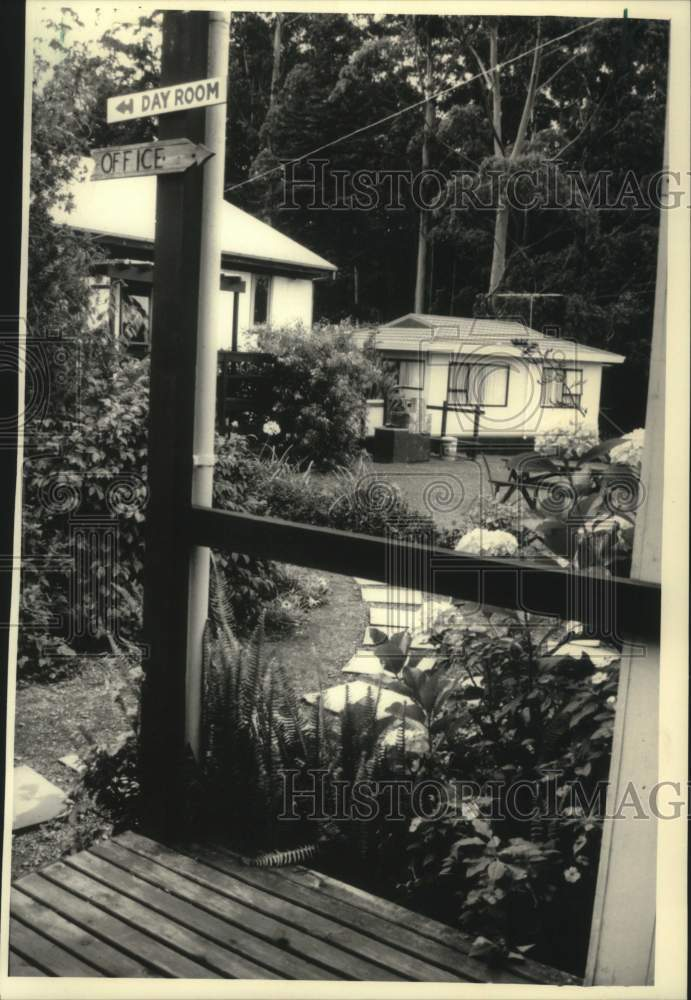 1988 Press Photo The Kerikeri Hostel in New Zealand - mjc27764 - Historic Images