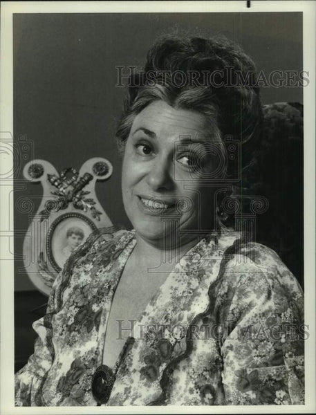 "1976 Press Photo Naomi Stevens stars as Rose Montefusco in ""The Montefuscos"" - Historic Images"