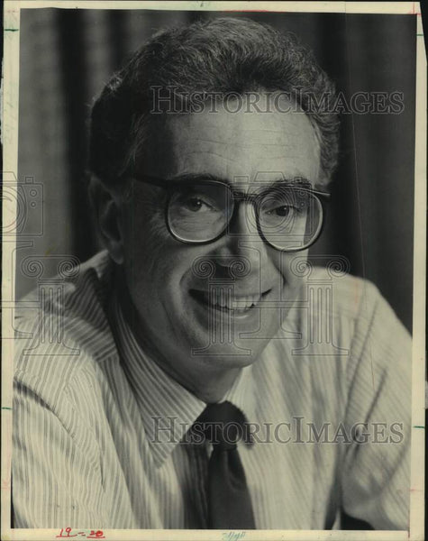 1985 Press Photo Sig Gissler Milwaukee Journal Editor - mjc30879 - Historic Images