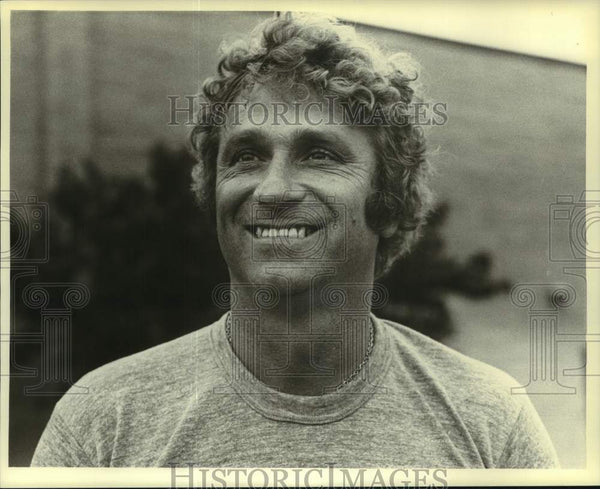 1984 Press Photo Ron Steiner, University of Wisconsin-Stevens Point football. - Historic Images
