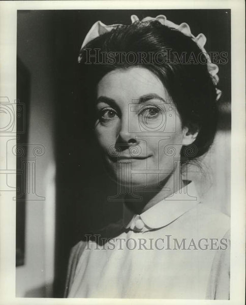 "1976 Press Photo Jean Marsh, British Actress, ""Upstairs Downstairs"" - mjc40823 - Historic Images"