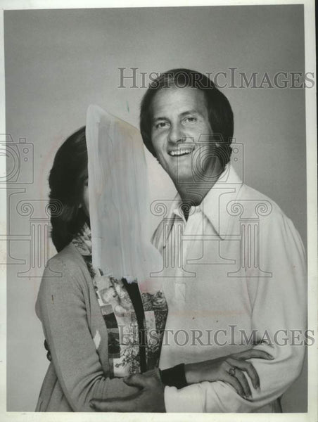 1978 Press Photo Actress Debby Boone & Actor Pat Boone in a family special - Historic Images