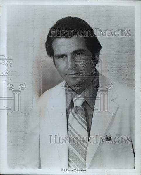 1975 Press Photo James Brolin Portrays Dr. Steven Kiley in Marcus Welby, MD - Historic Images