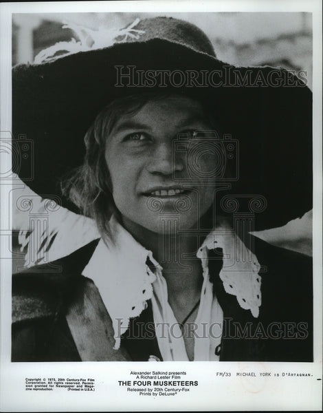 1975 Press Photo Michael York stars in The Four Musketeers. - mjp04651 - Historic Images