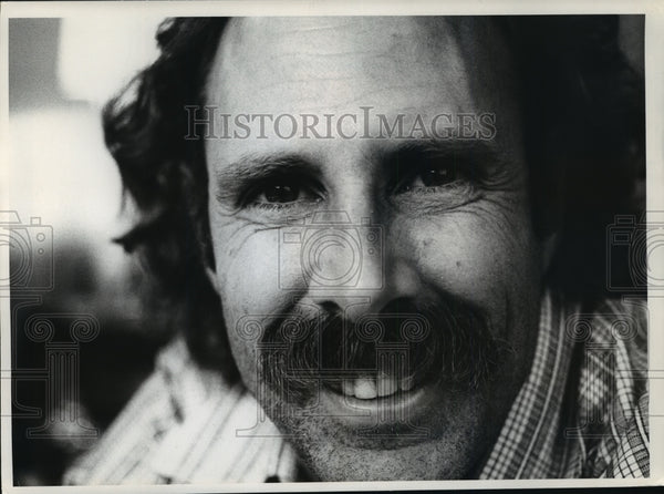 1973 Press Photo Bruce Dern in New York, star of The King of Marvin Gardens. - Historic Images