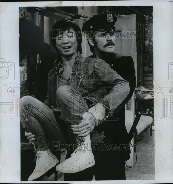1974 Press Photo John Beck and Randy Kim in Nourish the Beast. - mjp06241 - Historic Images