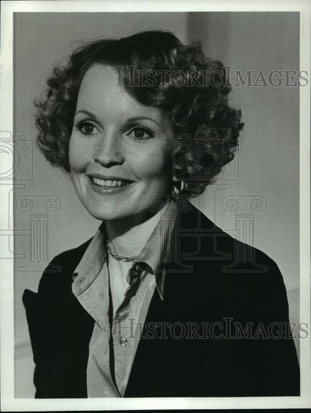 "1976 Press Photo Portrait of Marlyn Mason in ""Prisoner of the Island Cell"" - Historic Images"
