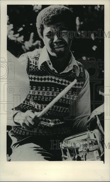 1983 Press Photo Drummer Jack DeJohnette and Special Edition at Jazz Gallery. - Historic Images