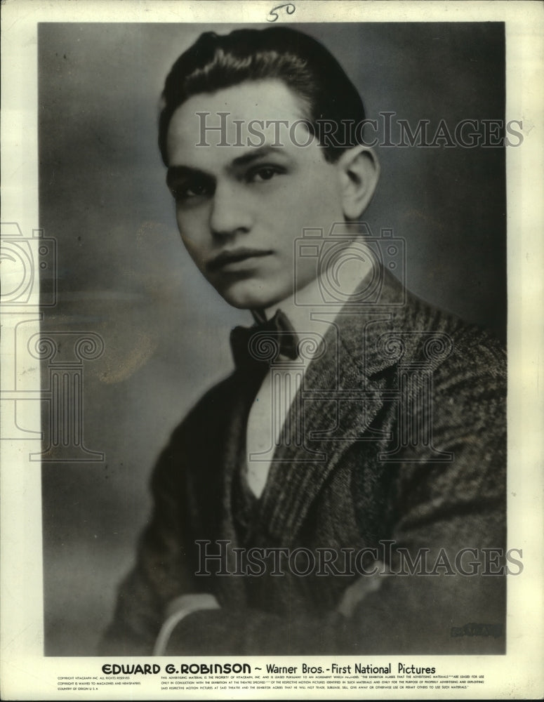 1913, Edward Robinson professional acting photograph - mjp35662 - Historic Images